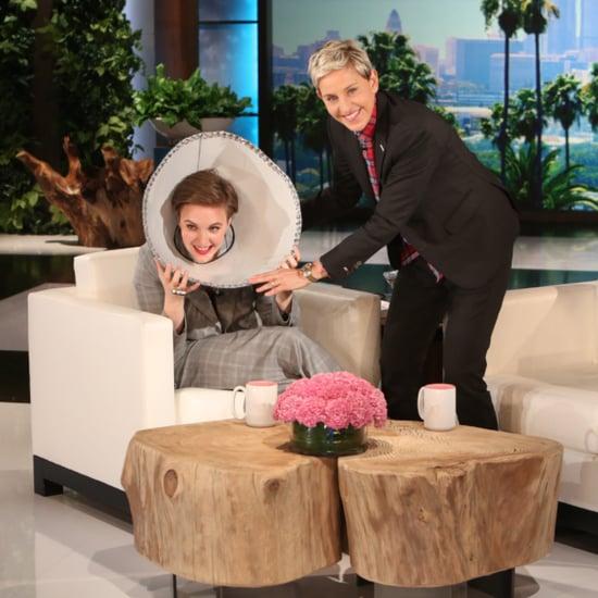 Lena Dunham on Ellen October 2015