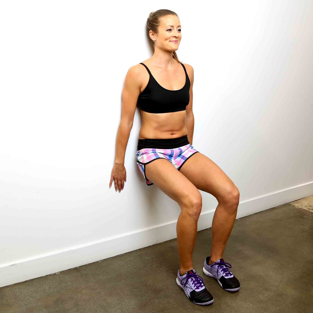 Part 1, Exercise 3: Wall Sit With Calf Raise