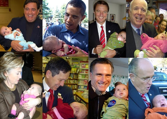 Baby Bait For Presidential Candidates