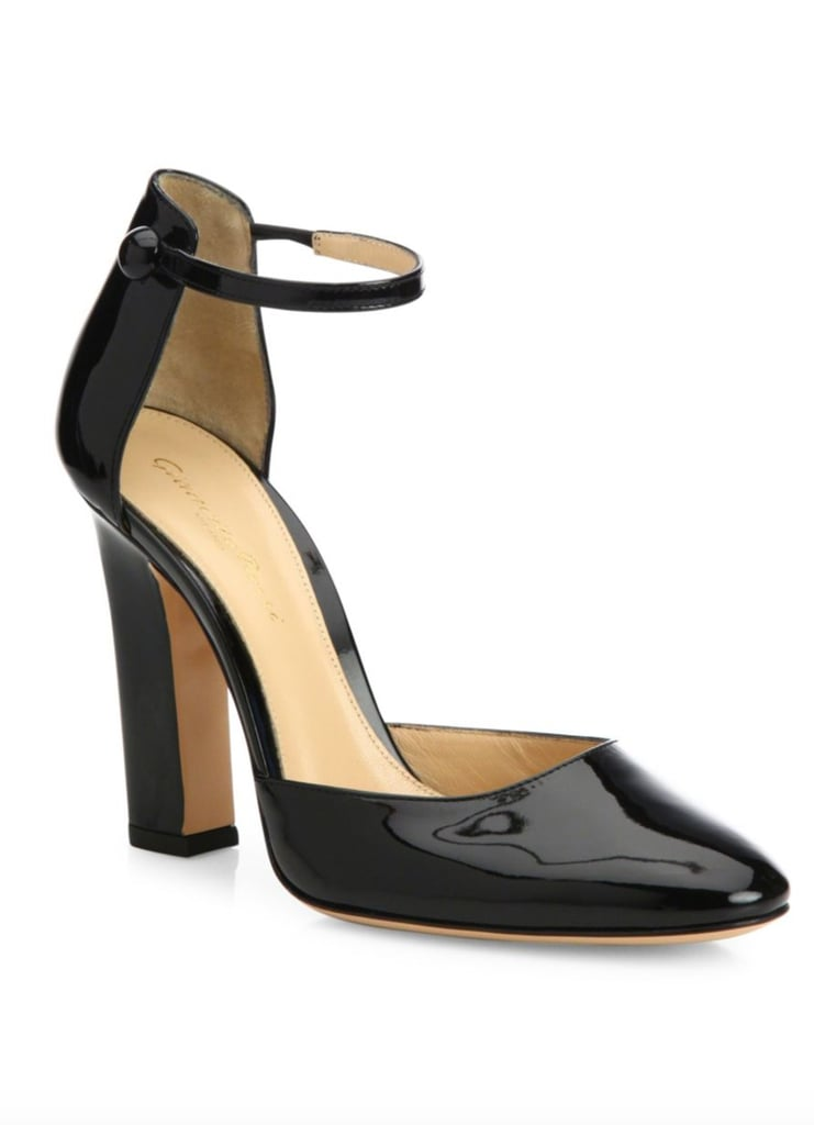 visit new cheap price Gianvito Rossi Patent Leather Ankle Strap Pumps wholesale online fashionable jvYdy