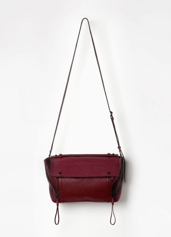 I can't get enough of Phillip Lim's bags. Every season, he comes out with superchic styles and the prices aren't ridiculously expensive. I'm completely head over heels smitten with this aubergine Pashli Messenger ($750). The shape is not too big and the multifunctional strap is ideal for a no-fuss girl like me. — Chi Diem Chau, associate editor