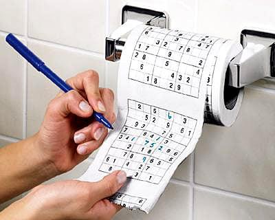 Giggle's Anti-Gift Guide: Sodoku Toilet Paper