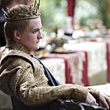 Joffrey is relaxed before things go sideways for him.