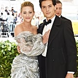 Cole Sprouse and Lili Reinhart at 2018 Met Gala