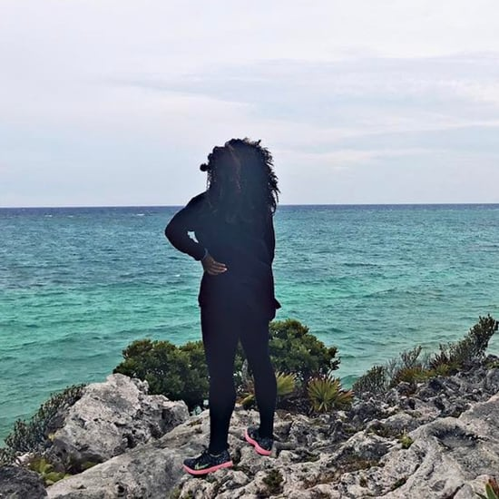Serena Williams Mexico Holiday Pictures April 2017