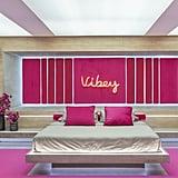 """""""Vibey"""" in the Hideaway Suite"""