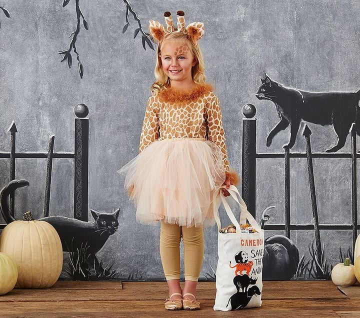 Giraffe Tutu Halloween Costumes That Will Keep Kids Warm