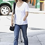 Natalie Portman was out and about in LA.
