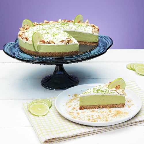 No-Bake Vegan Avocado Key Lime Pie