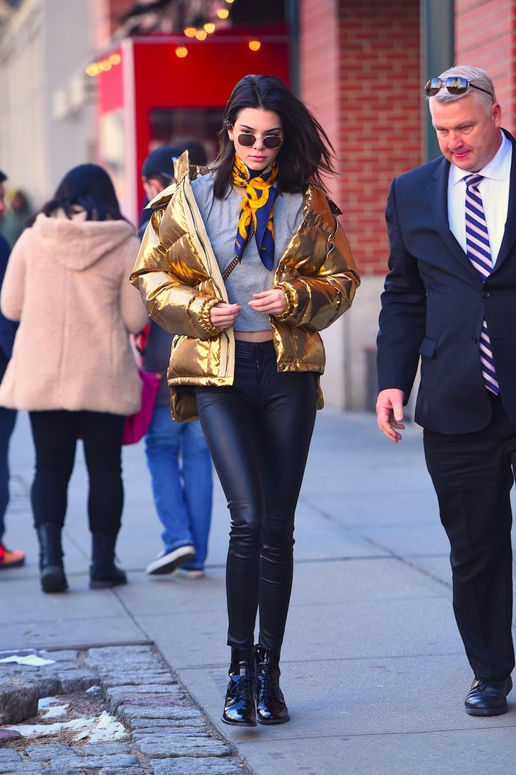 Models Winter Street Style Outfits | POPSUGAR Fashion