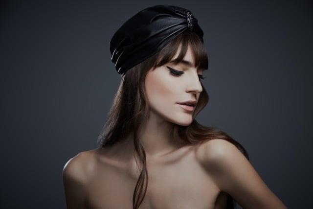 Leather Turban ($490)
