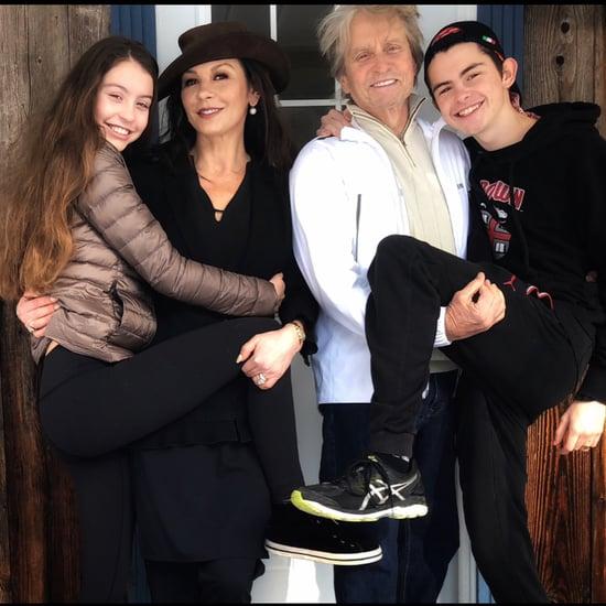 Michael Douglas and Catherine Zeta-Jones's Kids