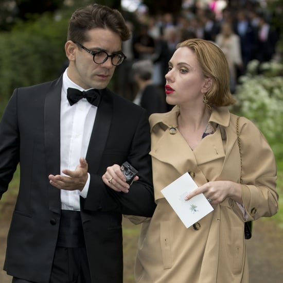Scarlett Johansson and Romain Dauriac Attend a Wedding