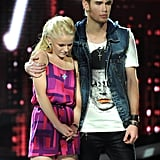Colton Dixon and Hollie Cavanagh were in the bottom two.