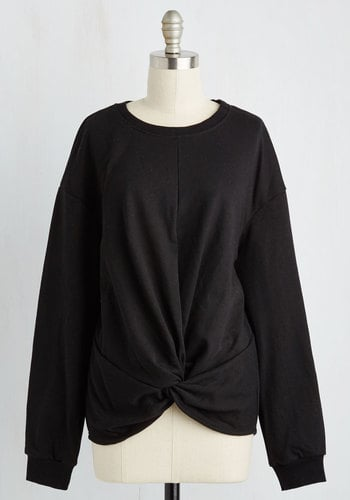 Lumiere A Knot to Offer Sweatshirt in Black ($40)