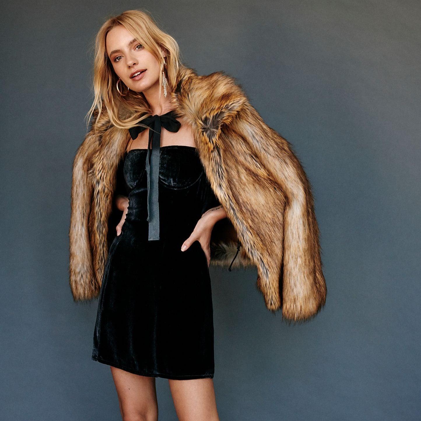 92df0d689b2 For Love & Lemons Nadine Velvet Bustier Mini Dress | Holiday Dresses ...