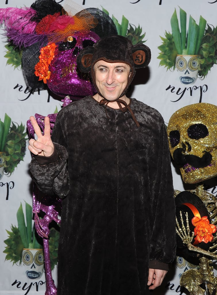 The Good Wife's Alan Cumming wore a monkey suit to Bette Midler's 2011 party in NYC.