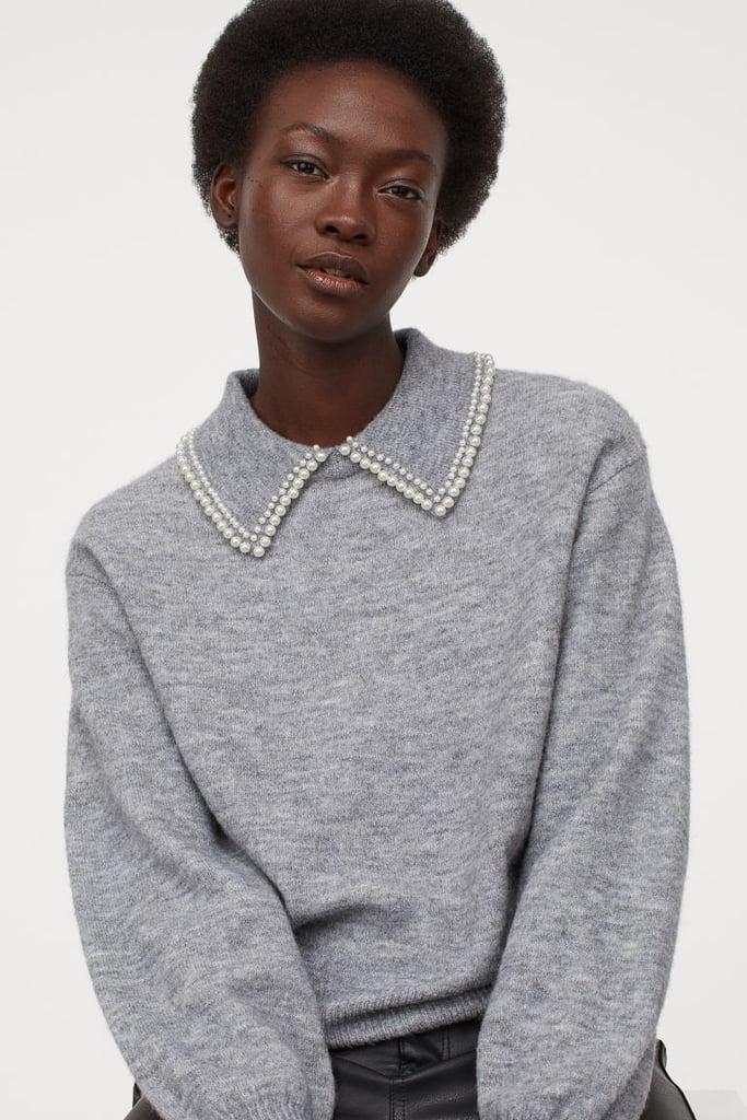 H&M Collared Sweater