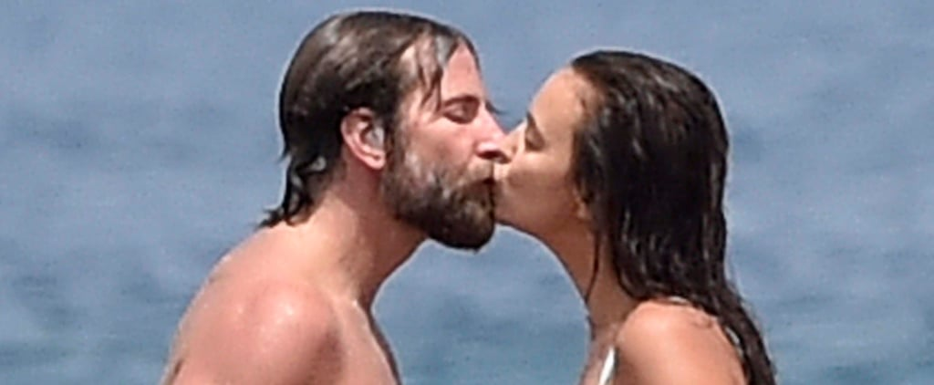Bradley Cooper and Irina Shayk Continue Their Summer of Love With a Smooch in Italy