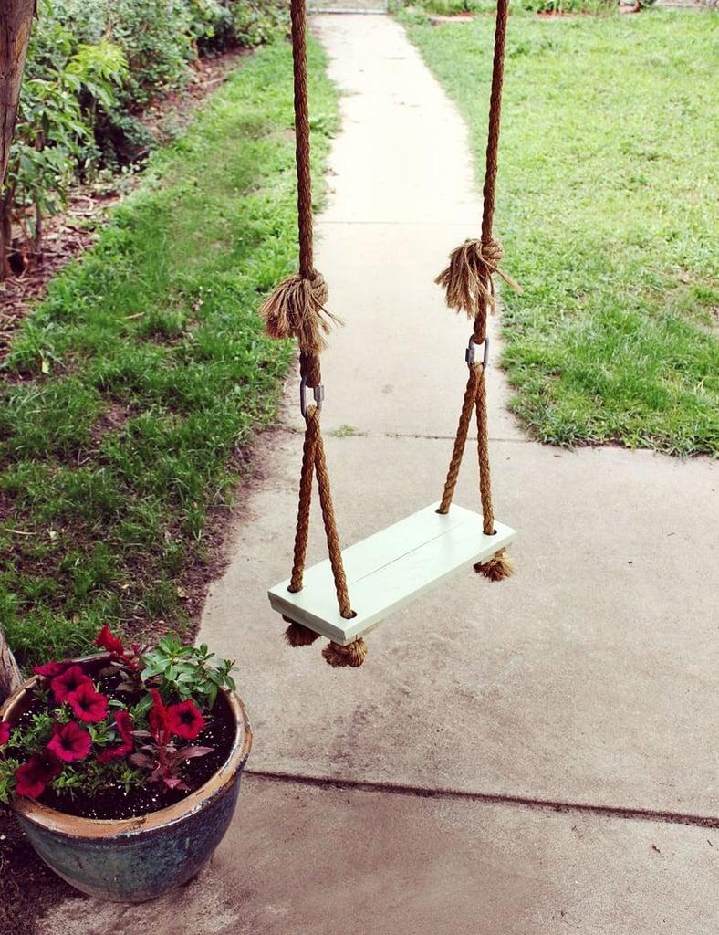 Hang a Tree Swing