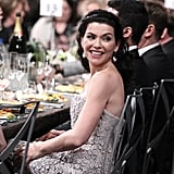 Julianna Margulies looked gorgeous.