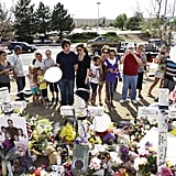Christian Bale at Aurora Shooting Memorial Pictures