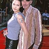 Angelina Jolie et Billy Bob Thornton en 2000