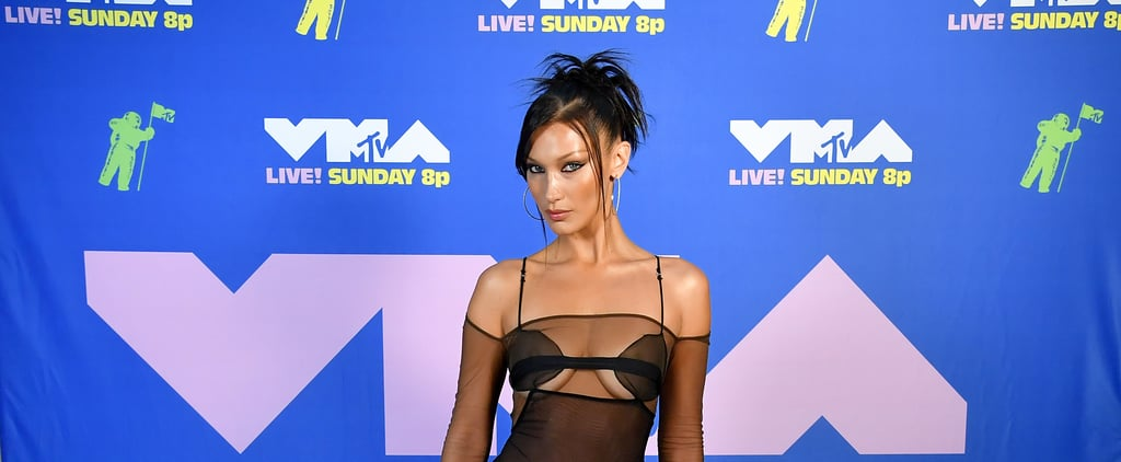Bella Hadid's '90s Hair and Makeup at 2020 MTV VMAs