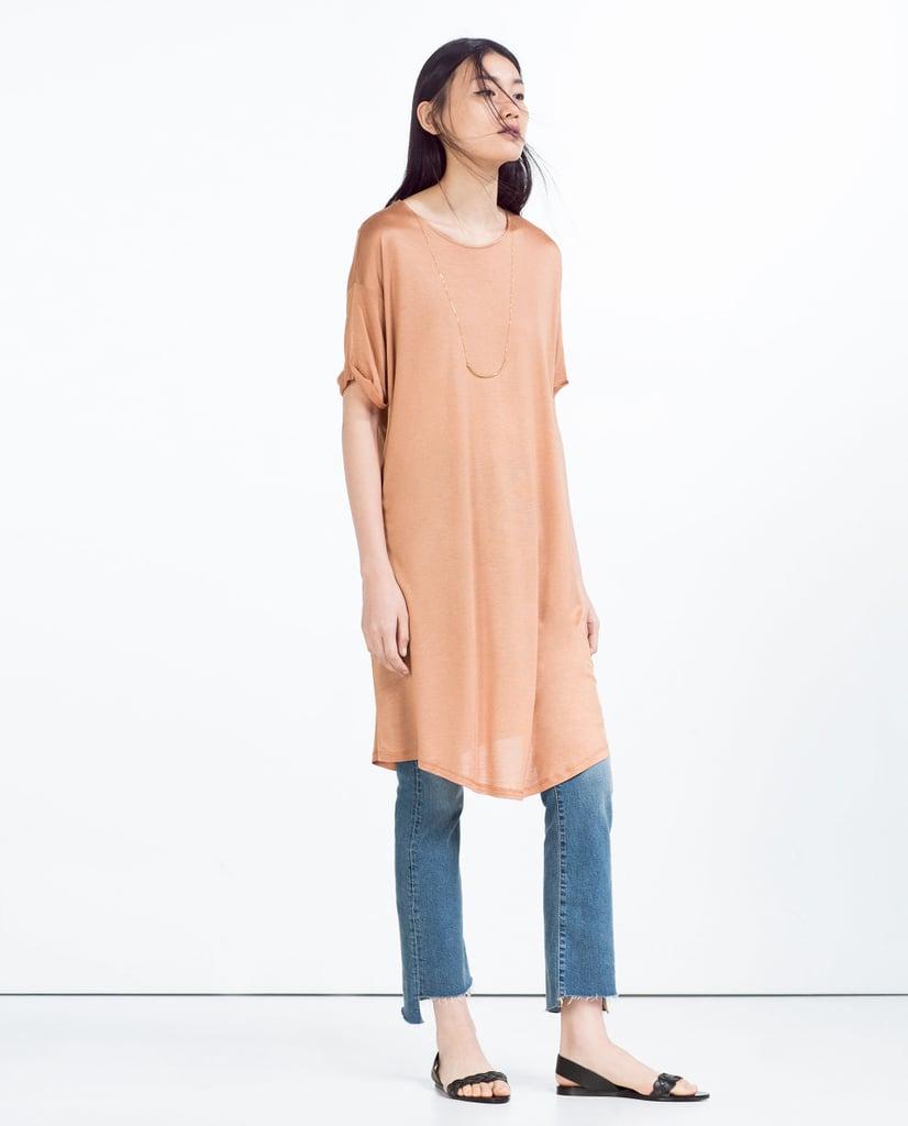 Zara Long T-Shirt ($10)