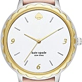 Kate Spade Morningside Stainless Steel Quartz Watch With Leather Strap