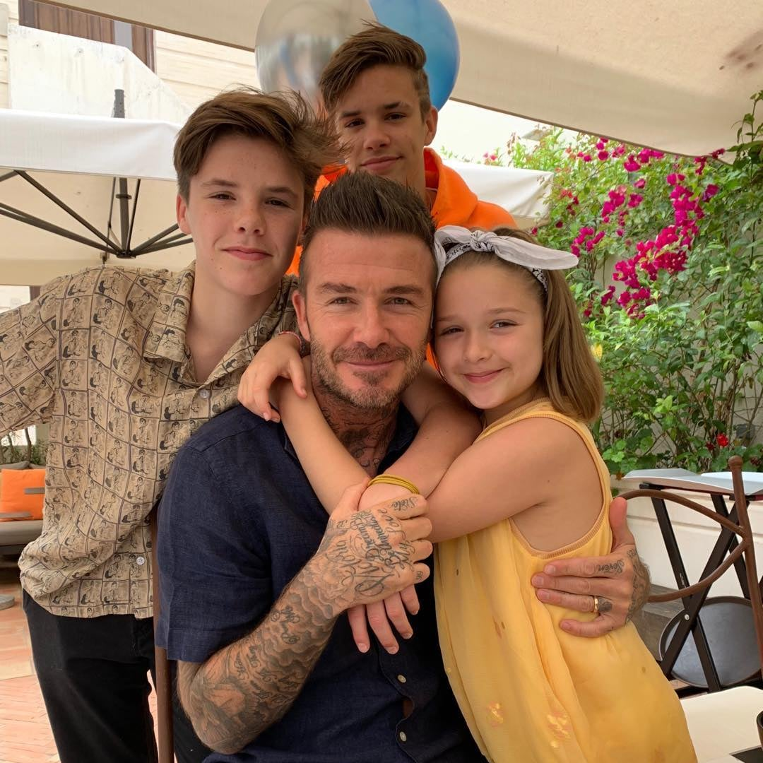 Celebrity Instagrams For Father's Day 2019 | POPSUGAR Celebrity UK