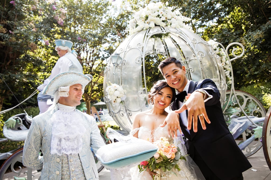 Sarah and Gilbert's Disneyland-Themed Wedding