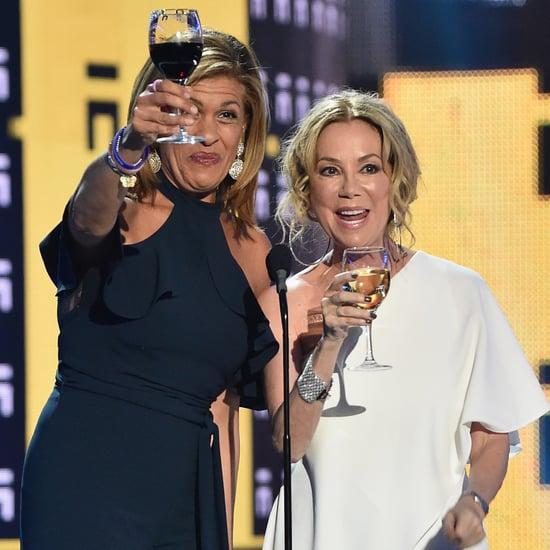 Hoda Kotb and Kathie Lee Gifford at 2017 CMT Awards