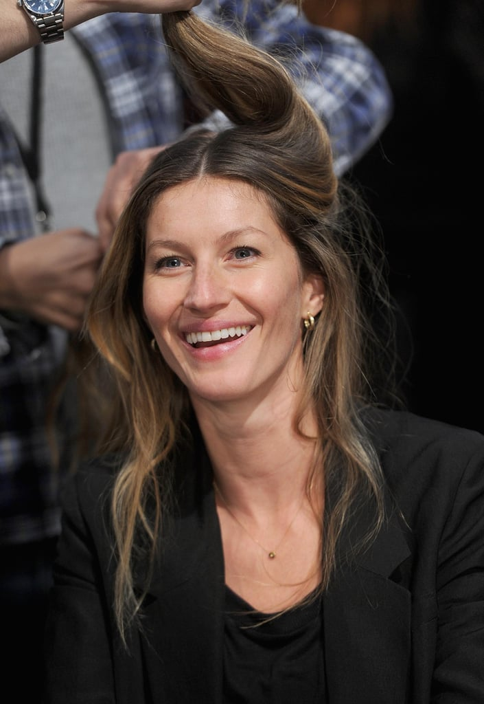 Gisele Bundchen Hits the Runway For Alexander Wang at NYFW