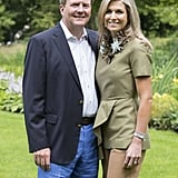 King Willem-Alexander and Queen Máxima's Summer portrait.