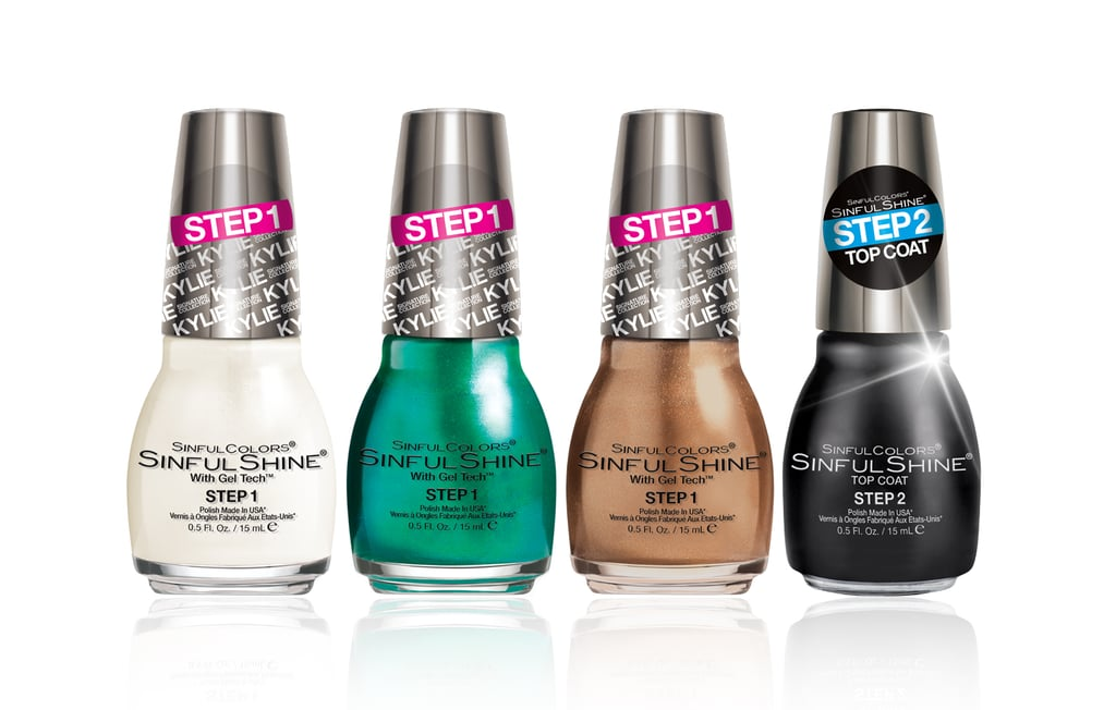 From left to right: King Kylie SinfulShine polishes in Koko-Nuts ...