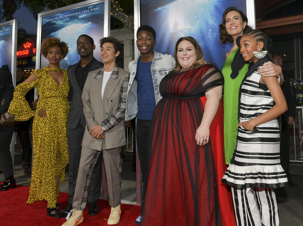 This Is Us Stars Supported Chrissy Metz at Her Movie