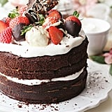 Vegan Dulce de Leche Chocolate Layer Cake With Cheesecake Filling
