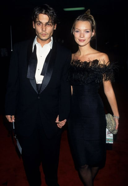 1995: Frank Sinatra's 80th birthday party with Johnny Depp