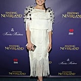 At the Opening Night of Finding Neverland