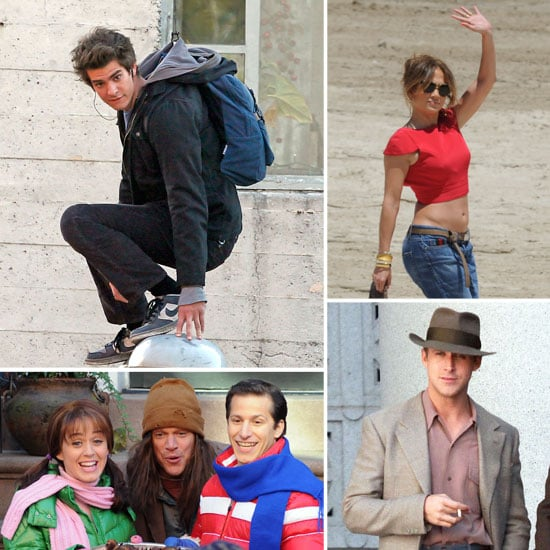 Matt Damon, Jennifer Lopez, Andrew Garfield, and More Stars on Set This Week!