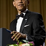 President Obama gave a humorous speech at the White House Correspondant's Dinner.