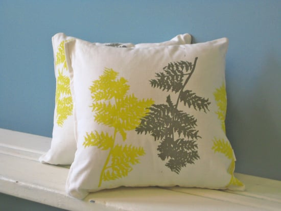 Etsy Find: Appetite Home Fern Pillow