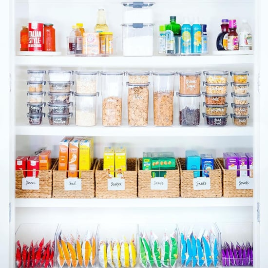 Home Organization by Rainbow Color