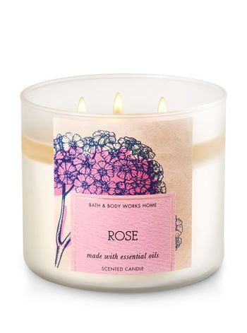 Rose candle ($25)