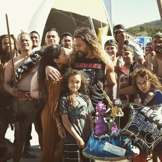 Jason Momoa's Surprise 38th Birthday Party