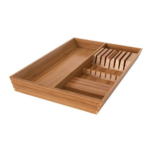 Bamboo Utensil Tray