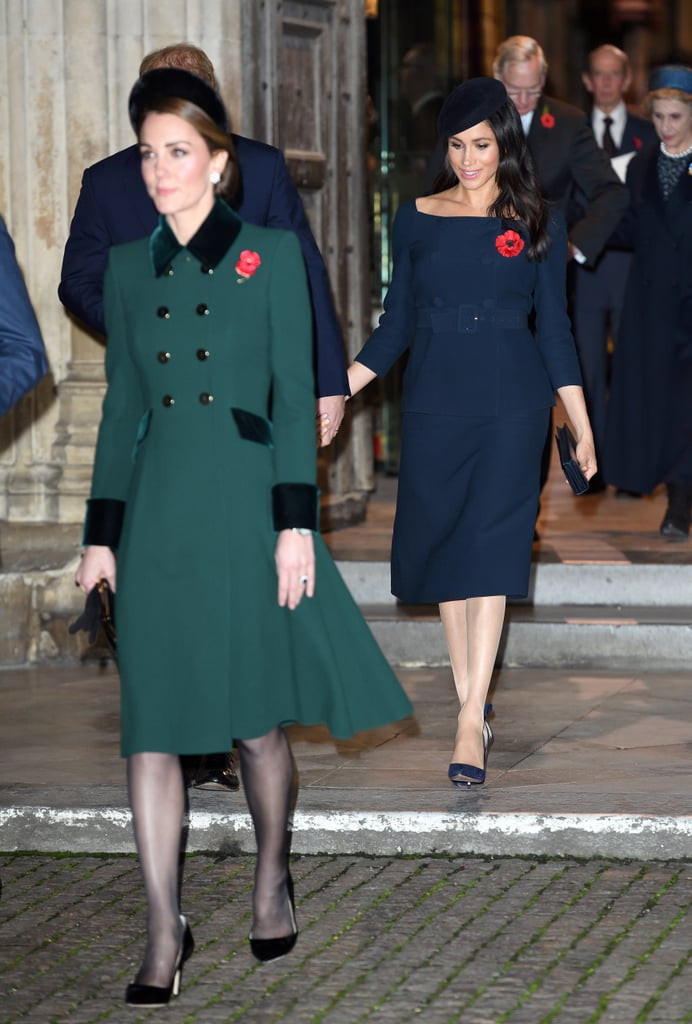 Royals at Remembrance Day Service at Westminster Abbey 2018