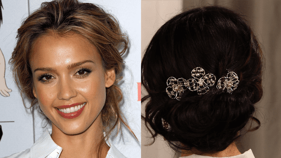 How to create a loose wedding updo popsugar beauty urmus Choice Image