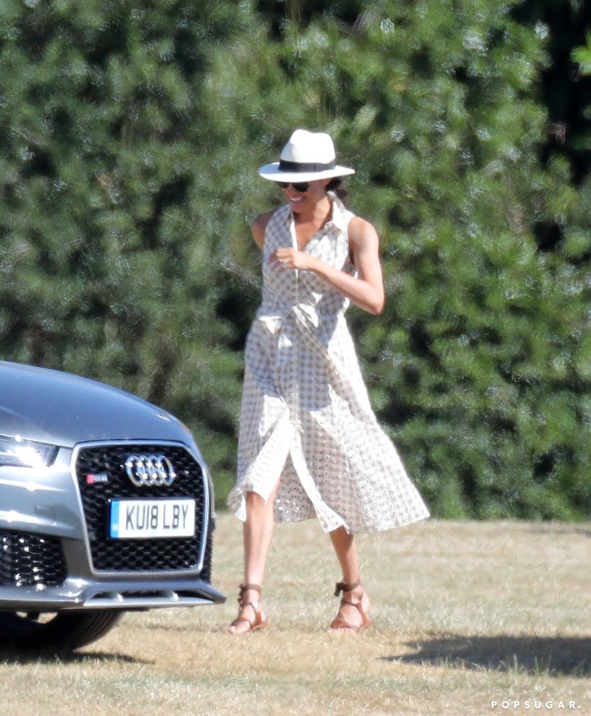 Meghan Markle And Prince Harry At Audi Polo Challenge - Tom williams audi